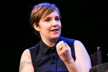 Girls creator, Lena Dunham, is backing Barack Obama. Photo / AP