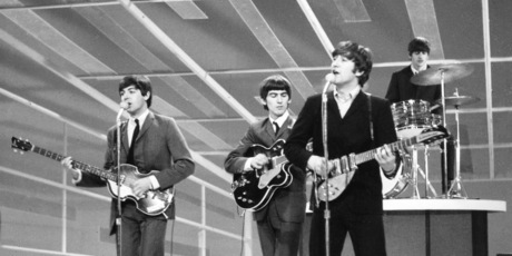 The Beatles, Paul McCartney, George Harrison, John Lennon, and Ringo Starr. Photo / Supplied