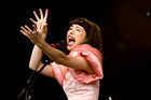 Kimbra, from Hamilton, is pipped to clean up after a big year in which she reached the top of America's Billboard charts with her smash single <i>Somebody That I Used to Know</i>. Photo / Dean Purcell