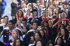 University of Auckland graduates. Photo / NZ Herald