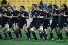 The haka has earned international kudos as the means by which the All Blacks start tests, although sometimes too much emphasis can be focused on it, relative to the game. Photo / NZ Herald