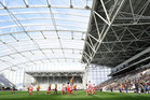 Forsyth Barr Stadium's finances are not sustainable, says Dunedin Mayor Dave Cull.  Photo / NZPA