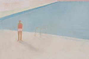 Freyberg Pool, 2007 by artist Kate Small at Anna Miles Gallery. Photo / Supplied