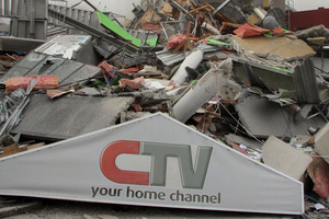 The tremor brought down the six-storey CTV Building resulting in the deaths of 115 people. Photo / Geoff Sloan