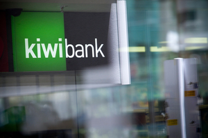 Kiwibank credit rating downgraded one level to A+ from AA-. Photo / Dean Purcell