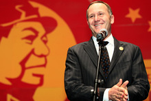 John Key will take the political temperature of the administration in 2013. Photo / APN