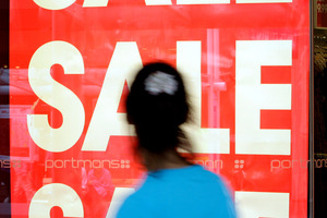 Beware of one-day sales. They're a great way to get you to spend. Photo / Sarah Ivey