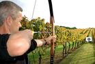 Archery at Wild on Waiheke. Photo / Supplied
