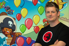 Ninja Kiwi co-founder Chris Harris. Photo / Brett Phibbs