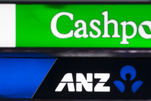 Two brands - but not for much longer. The ANZ says its transfer of 2.6 million accounts onto the National Bank IT system went smoothly. Photo / Greg Bowker