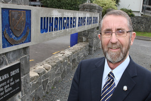 Whangarei Boys' High School headmaster Al Kirk. Photo / Northern Advocate