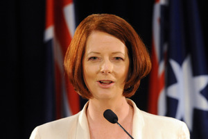 Australian Prime Minister Julia Gillard. Photo / File