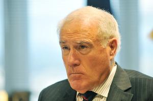 Sir Geoffrey Palmer. Photo / NZPA