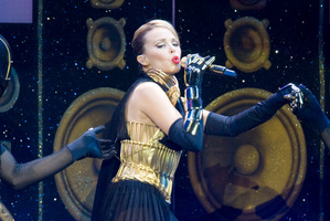 Kylie Minogue feels low after touring.Photo / File