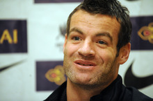 New Zealand All Whites captain Ryan Nelsen. Photo / NZPA