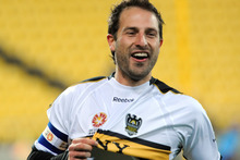Wellington Phoenix captain, Andrew Durante. Photo / NZPA