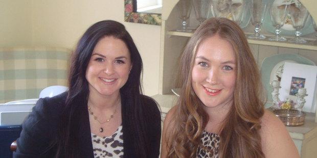 Mediajam director Janelle Rennie with intern Ashleigh Castle.JPGPhoto / Supplied