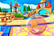 There's plenty of monkeying about to be done in the latest Super Monkey Ball title. Photo / Supplied