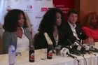 US tennis star Serena Williams said she hopes her African tour with elder sister Venus will encourage athletes on the continent to strive for excellence in their sport. The two sisters attended a press conference in Lagos where they also played tennis with children.
