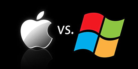 The battle between Apple and Windows for dominance continues. Photo / Supplied