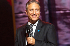 Jon Stewart has the night off as Hurricane Sandy bears down on American's East Coast. Photo / AP