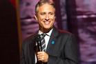 Jon Stewart has the night off as Hurricane Sandy bears down on American's East Coast. Photo / AP