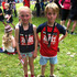 Mia and Max O'Donoghue at the Auckland Marathon. Photo / Katie O'Donoghue