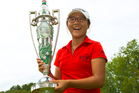 Lydia Ko, winner of the 2012 U.S. Women's Amateur, is nominated for best golfer at the ASB Young Sportsperson of the Year awards. Photo / USGA/Steve Gibbons