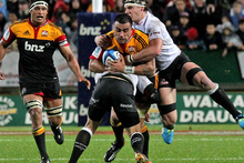 The Chiefs' squad next season will include five current All Blacks. Photo / Alan Gibson 