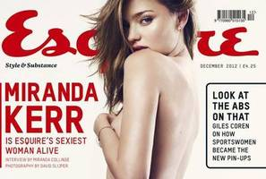 Miranda Kerr on the cover of Esquire magazine. Photo / Esquire