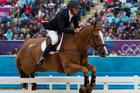 Andrew Nicholson riding Nereo at the London Olympics. Photo / Brett Phibbs