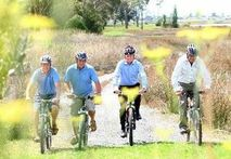 About $100 million has been invested in cycle-trail construction over the past three years. Photo / NZ Herald
