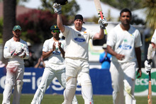 Jesse Ryder scored 291 runs during his comeback match for Wellington in their five-wicket Plunket Shield win over Central Districts. Photo / Duncan Brown.