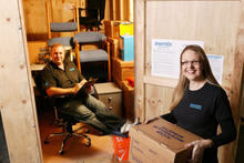 Steve and Jonelle Philips started their mobile storage company Smartbox back in 2006. Photo / Supplied
