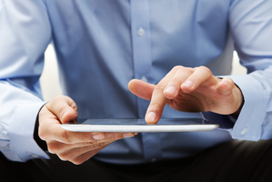 Oh the hassle of having to control a touchscreen using fingers. Photo / Thinkstock