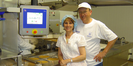 Inge Vercammen and Marcel Naenen cooked their first pancake under the Van Dyck Fine Foods label back in July 2000. Photo / Supplied