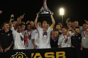 Waitakere United have won the ASB Charity Cup. Photo / Getty Images.