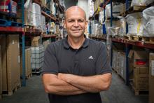 Steve Schade, owner of Storage and Distribution Specialists, provides options for local and overseas companies. Photo / Ted Baghurst