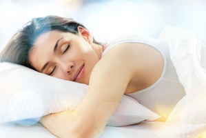 Sleeping on your stomach can indicate you're not in control of your life.Photo / Thinkstock