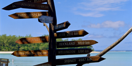 It's simple to get from A to B in Raratonga. Photo / Thinkstock