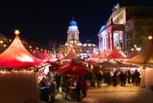 Berlin's Christmas market in full swing. Photo / Thinkstock