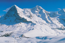 It's a long way to the top of the slopes of Wengen, Switzerland. Photo / Thinkstock