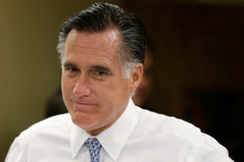 Mitt Romney is convinced he will win today's US Presidential Election. Photo / AP