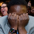 Obama supporters reacts to the projection of the reelection of President Obama at the Democrat's election night party at the Sheraton Hotel in Salt Lake City, Utah. Photo / AP