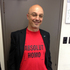 Green Party MP Kevin Hague wears a shirt to show his support against the 'Gay Red Top' comments made by John Key earlier this week. Photo / Audrey Young