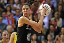 Anna Harrison has enjoyed being a central figure for the Silver Ferns