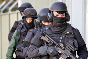 Six properties in Hutt Valley were raided by armed police to arrest people on drug charges. File Photo / NZ Herald