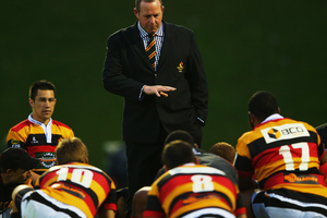 Waikato Rugby Union has reappointed Chris Gibbes as head coach of the Waikato ITM Cup team for a further two years. Photo / Getty Images.