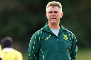 Coach Heyneke Meyer. Photo / Getty Images