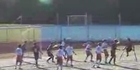 Watch: One-legged soccer player scores incredible goal